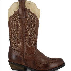 Kids unisex cowboy boots